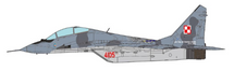 Polish Air Force MiG-29UB Fulcrum, 22nd TAB
