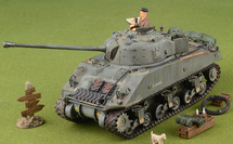 Sherman Firefly Vc. 8th Armored Brigade, 24th Lancers, 13/18th Hussars, Normandy 1944