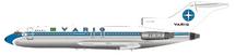Varig Boeing 727-100 PP-VLF Polished With Stand