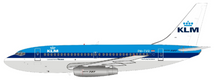 KLM Boeing 737-200 PH-TVR With Stand