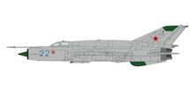 MiG-21SMT Fishbed Soviet Air Force Training, Blue 22, Krasnodar AB