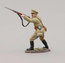 Russian Infanteer Thrusting Rifle with Bayonet, single figure
