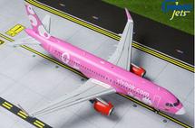 VivaAir A320-200 (Pink Livery) HK-5273 Gemini 200 Diecast Display Model