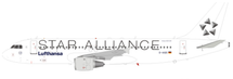 Star Alliance Lufthansa Airbus A320-211 D-AIQS With Stand (Limited 80pcs)