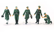 German Army, Officers 5-Piece Set