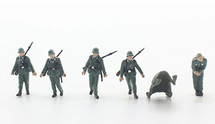 German Army, Wounded Soldier 5-Piece Set