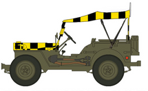 """Jeep USAAF, """"Follow Me"""""""