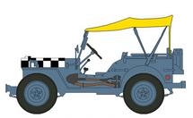 "Jeep RAF, ""Follow Me"""