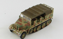 Sd.Kfz.7 Half-Track Diecast Model German Army SS Leibstandarte, SS-924015 Marta
