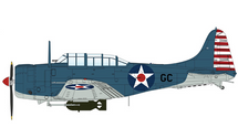 SBD-2 Dauntless USN, Black GC, Howard Young, Pearl Harbor, HI, December 7th 1941