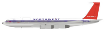 Northwest Orient Airlines Boeing 707-351C N386US With Stand