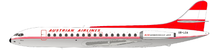 Austrian Airlines Sud SE-210 Caravelle VI-R OE-LCA With Stand