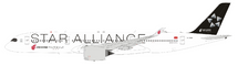 Star Alliance (Air China) Airbus A350-900 B-308M With Stand