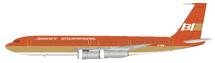 Braniff International Airways Boeing 707-300 N7098 With Stand