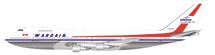 Wardair Canada Boeing 747-100 C-FDJC Polished With Stand