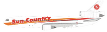 Sun Country Airlines DC-10-15 N154SY With Stand