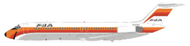 PSA Pacific Southwest Airlines DC-9-32 N707PS With Stand