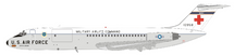 USA Air Force McDonnell Douglas C-9A Nightingale (DC-9-32CF) 68-10958 With Stand