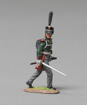 Pavlowski Grenadier Officer Napoleonic Wars, single figure