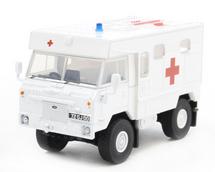 Land Rover 101 Forward Control Ambulance British Royal Army, Bosnia, 1990s