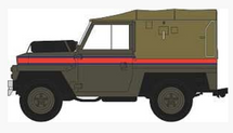 "Land Rover 1/2-Ton ""Lightweight"" (Canvas) Royal Air Force Police 1:76 Scale"
