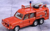 Truck Fire-Fighting Airfield Crash Rescue Mark 2 Range Rover (TACR2) RNAS Yeovilton