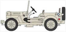 "Willys MB ""Jeep"" U.S. Army Air Force, Tunisia, 1943"