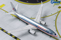 American Airlines 737-800, N921NN Polished Retro Gemini Jets Diecast Display Model