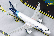 Alaska Airlines A319, N530VA Gemini Diecast Display Model