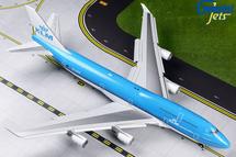 KLM Royal Dutch Airlines 747-400, PH-BFW Flaps Down Gemini 200 Diecast Display Model