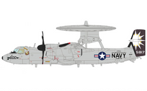 E-2C Hawkeye USN VAW-116 Sun Kings, Elvis, USS Abraham Lincoln, May 2007