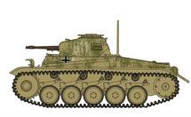 Sd.Kfz.121 Panzer II F German Army 6.PzDiv, #811, Kursk, USSR, Operation Zitadelle 1943