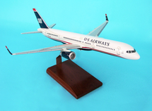 US Airways B757-200, N909AW 1/100 Mahogany Display Model
