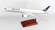 United B787-9 1/100 Mahogany Display Model
