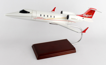 Lear 60 New Livery 1/35 Mahogany Display Model