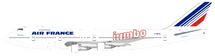 Air France Boeing 747-100 F-BPVL Jumbo With Stand