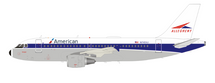 American Airlines (Allegheny Airlines) N749VJ Airbus A319-112 with stand