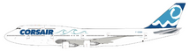 Corsair Boeing 747-300 F-GSEA With Stand