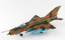 MiG-21MF Fishbed East German Air Force JG-1, Red 511, East Germany
