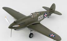 P-40B Warhawk USAAC 15th PG, 47th PS, White 155, Kenneth Taylor, Wheeler Field, Pearl Harbor, HI, December 7th 1941