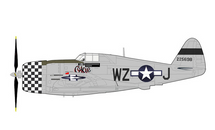 P-47D Thunderbolt USAAF 78th FG, 84th FS, #42-25698 Okie, Quince Lucien Brown, RAF Duxford, England, May 1944
