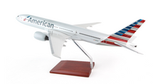 American Airlines B777-200 New Livery 1/100 Mahogany Display Model