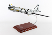 B-29 Museum of Flight #54 1/72 Mahogany Display Model