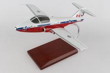 CT-114 Tutor Snowbirds 1/32 Mahogany Display Model
