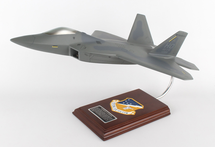 F-22 Raptor Holloman Air Force Base 1/40 Mahogany Display Model