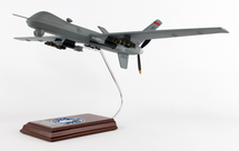 MQ-9 Reaper Holloman Air Force Base 1/32 Mahogany Display Model