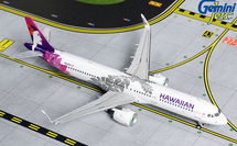 Hawaiian Airlines A321neo, N204HA Gemini Diecast Display Model