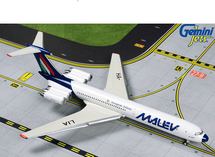 Malev Hungarian IL-62M HA-LIA (Final Livery) Gemini Diecast Display Model
