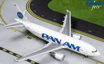 Pan American Airways A310-300, N823PA Clipper Golden Light Gemini Diecast Display Model