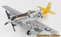 P-51D Mustang USAAF 506th FG, 462nd FS, #44-72587 Hon Mistake, William Ebersole, Iwo Jima, 1945, Signature Edition
